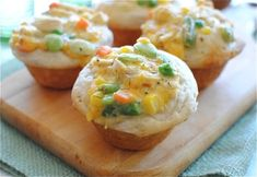Chicken Pot Pie Cupcakes | 25 Ways To Eat Cupcakes For Every Meal