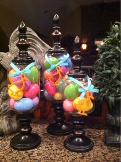 Dixie of all Trades: Easter apothecary jars