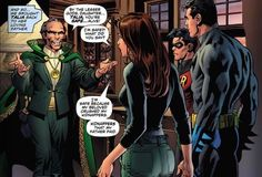 Talia took Todd in out of her love for Batman, while Ra's al Ghul was interested…