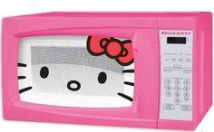 Microondas de hello kitty