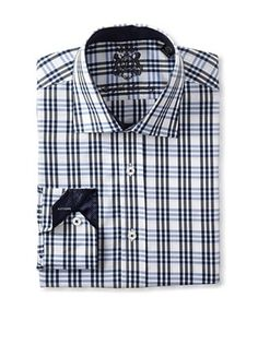 54% OFF English Laundry Men's Plaid Dress Shirt