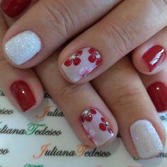 Manicure E Pedicure, Cut Out Design, Nail Art Designs, My Nails, Nailart, Makeup, Shoulder Cut, Instagram, Beauty