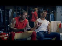 EA Spot featuring Colin Kaepernick and Russell Wilson is pretty funny.  Great commercial.
