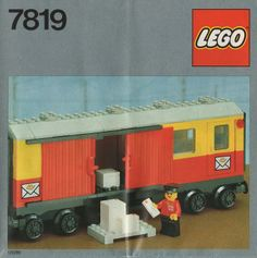 7819-1: Postal Container Wagon