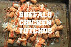 buffalo chicken totchos-5