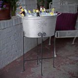 Tropical Palm Tree Beverage Tub by HomeWetBar. $39.95. Palm trees are dancing, the breeze is blowing, and this fun beverage tub is chilling your favorite beverages. Perfect for both indoor and outdoor serving. Crafted from galvanized steel, this bottle chiller is sturdy and dependable. Tropical palm tree beverage tub measures 21x21x11. Palm trees are dancing, the breeze is blowing, and this fun beverage tub is chilling your favorite beverages. Perfect for both indoor and outdoor ...