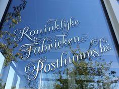 Kijk eens wat mooi! De stijl aangepast vanwege het jubileum jaar! 150 jaar Koninklijke Fabrieken Posthumus B.V.