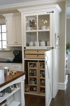 Custom Wood Products #kitchen #cabinets