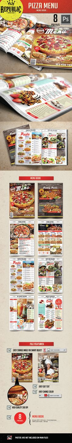 Mexican Menu Template Food menu\/flyer\/poster Pinterest - sample pizza menu template