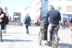 In Pictures: Bike lust, Copenhagen -I wish London were more bike friendly. It would be fab to feel safe cycling with kids in the front like this!