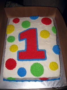 birthday boy sheet cake