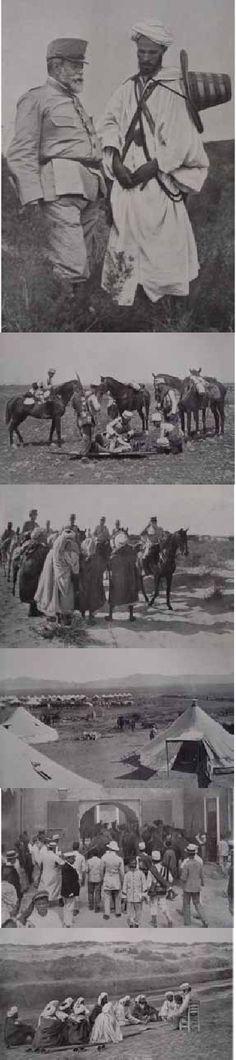 ISSN 1133-598X · Vegueta·12/2012 · página 74 Vista general del campamento del zoco El Arba. El teniente Sr. Solá herido en un brazo, al ser colo-cado en la camilla para conducirlo al campamento. El moro que hirió a este ocial estaba oculto a una distancia de 25 metros; al verle el Sr. Solá le disparó su revólver consiguiendo matarlo . Los moros condentes de Quebdana. Moros de la kábila de Lahhadara dando noticias condenciales al general Marina acerca de las bajas que tuvo el enemigo en…