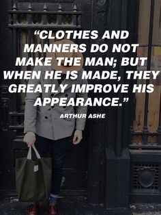 Ideas For Fashion Quotes Men Gentleman Rules Mens Fashion Quotes, Mens Fashion Blog, Best Mens Fashion, Men's Fashion, Hipster Fashion, Fashion 2020, Fashion Bloggers, Fashion Clothes, Fashion Design