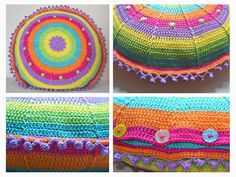 Elealinda-Design: Sansara No. 2 crochet pillow