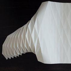 Origami lampshade DIY