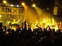Chain of Strength, Rev 25 show, NYC, 2012