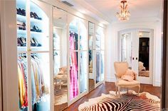 Walk-in closet - Celeb home tour: Lauren Conrad's stylish Beverly Hills penthouse