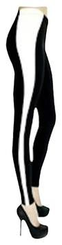 RUNE BLACK/WHITE Leggings SMALL NEW WITH TAGS ! OVERNIGHT SHIPPING AVAILABLE!
