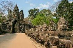 Cambodia Angkor Travel: Angkor Thom Temple Cambodia Tourism Sites - Cambodia Ciruit -Circuit Culture