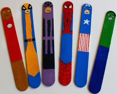 more superhero lollysticks
