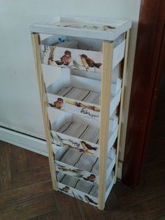 Super furniture from wooden crates Home Crafts, Diy Home Decor, Diy And Crafts, Room Decor, Decoupage Vintage, Wood Crates, Painting On Wood, Wood Projects, Furniture