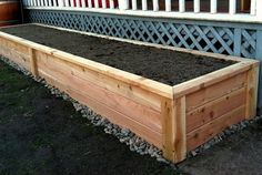 What is the best wood to use for raised garden beds? - Sustainable ...