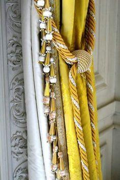 Traditional silk tassel fringe