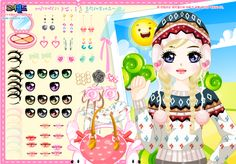Makeover and Dress up Games