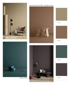 Pantone, Old Kitchen Tables, Apartment Therapy, Brown Interior, Colour Pallete, Color Palettes, Home Trends, Wall Colors, Color Trends