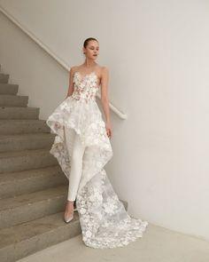 New York Bridal Fashion Week Trends: JUMPSUITS & PANTS - Francesca Miranda