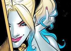 ♦ New Hairstyle in Harley Quinn #26