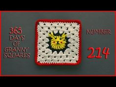 365 Days of Granny Squares Number 214 - YouTube