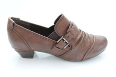 MARCO TOZZI Low Heel Shoes BROWN
