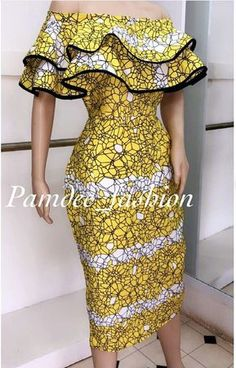 Stunning Ankara Gown Styles to Slay this Weekend Short African Dresses, Latest African Fashion Dresses, African Print Dresses, African Inspired Fashion, African Print Fashion, Africa Fashion, Ankara Dress Styles, Africa Dress, African Traditional Dresses