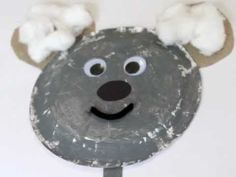 Koala Craft - going to use small gray plates and attach ears. Kids can attach black pom pom for nose, paper eyes, cotton balls to the ears.