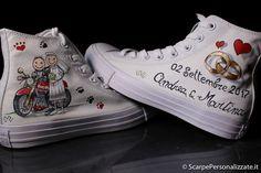 44 idee su Scarpe Sposa Personalizzate | scarpe, sposo matrimonio ...
