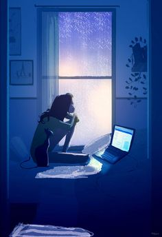 Illustration by Pascal Campion Art And Illustration, Pascal Campion, Wow Art, Oeuvre D'art, Cyberpunk, Amazing Art, Illustrators, Fantasy Art, Concept Art