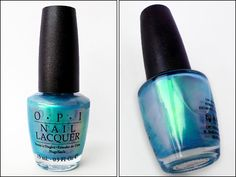 OPI Sonic Bloom — iridescent Blue Duochrome Irridescent Nails, Iridescent Nail Polish, Opi Nail Polish, Opi Nails, Nail Polishes, Gorgeous Nails, Pretty Nails, Opi Nail Colors, Finger