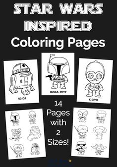 Free Star Wars-Inspired Coloring Pages for Kids - Star Wars Girls Ideas of Star Wars Girls - Have a blast with these Free Star Wars-Inspired Coloring Pages! Features 12 characters in 2 sizes. Great for parties classroom family & homeschool fun. Theme Star Wars, Star Wars Colors, Star Wars Party, Star Wars Quotes, Star Wars Humor, Star Wars Classroom, Star Wars Crafts, Star Wars Girls, Star Wars Wallpaper
