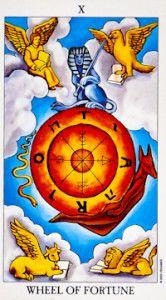 Wheel of Fortune Tarot Card Meanings - TarotWikipedia