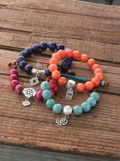 Just ordered the Best Trend bracelet in the blue and melon to use with my display items.