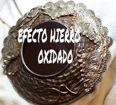 ESPEJO EFECTO OXIDO DE HIERRO, HECHO EN COLABORACION CON MI QUERIDA SONIA, DE GUSTAMONTON, OS DEJO EL ENLACE A SU CANAL Y VIDEO, ESPERO QUE LO GOCEIS COMO NO...