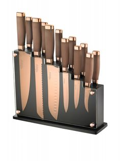 What do reviews say about the Ronco knife block?