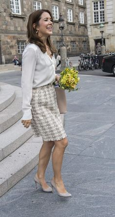 """thecatalogueofroyalfashion: """"Crown Princess Mary 
