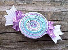 Lavanda Aqua y blanco envuelven caramelos cinta por leilei1202