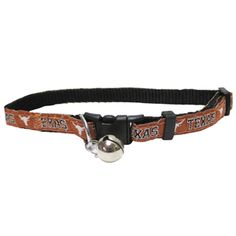 Texas Longhorns Cat Collar : Athletic Pets