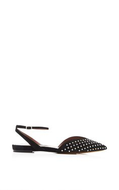 Shop Vera Crystal-Embellished Sandals by Tabitha Simmons Now Available on Moda Operandi