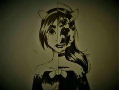 Alice angel - Demon or Angel ? by BleyAAA on DeviantArt Alison Angel, Alice, Great Memes, Bendy And The Ink Machine, Coraline, Cartoon Drawings, All Art, Beast, Video Games