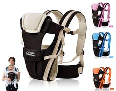 You save 30% off the regular price of $100.00 and FREE SHIPPING 2-30 Months Breathable Multifunctional Front Facing Baby Carrier  4 carrying position modes: Chest way, kangaroo style, back carry, cross arm carry High quality durable material, safe and exquisite design Adjustable shoulder belt, double-protection safety buckle, 3D ventilating back pad  Adjustable durable waistbelt for safer carrying Easy to operate and adjust it, flexible carrying position Suitable for carrying 2-30 months