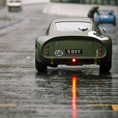 Aston Martin DP214, Racing Green.